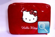 Custodia pc Hello Kitty rossa