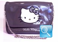 borsa hello kitty tracollina grey