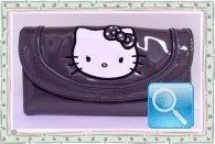 portagoglio hello kitty grigio