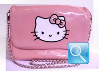 borsa hello kitty tracollina rosa