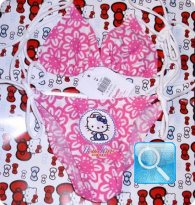 costume hello kitty bambina 5-6 anni rf