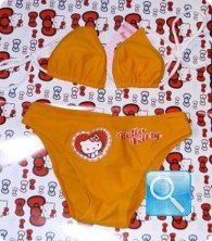 costume hello kitty bambina 5-6 anni a