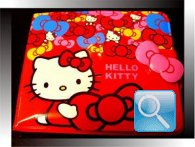 portafoglio hello kitty rosso