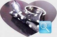 anello camomilla fiocco