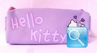 astuccio hello kitty viola