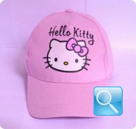 cappello hello kitty rosa cappellino