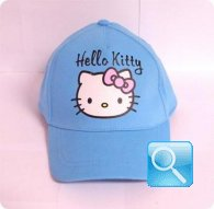 cappello hello kitty turchese cappellino