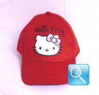 cappello hello kitty rosso cappellino