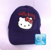 cappello hello kitty blu cappellino