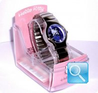 orologio hello kitty round espander viola