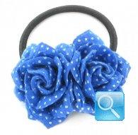 fermacoda camomilla felt rose dots blue