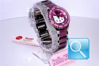 orologio hello kitty enamel fuxia