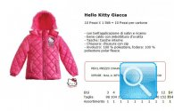 giacca invernale rosa hello kitty
