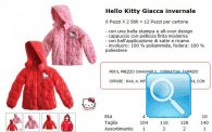 giacca hello kitty rosa e rossa