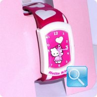 orologio hello kitty graffiti fuxia
