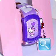 orologio hello kitty graffiti viola