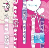 orologio hello kitty graffiti