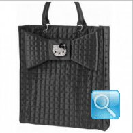 Borsa Sporta XL nera hello kitty