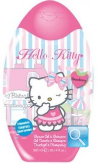 Shampoo e Docciaschiuma 2 in 1 Hello Kitty Boutique