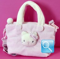 Tracolla Handbag Kitty Marshmallow Pink