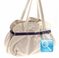 handbag m gisele white camomilla milano