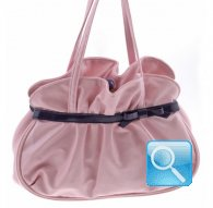 handbag m gisele L pink  camomilla milano