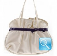 handbag S gisele white camomilla milano