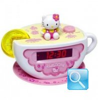 radio sveglia tazza hello kitty