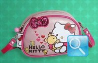 Borsetta tracolla rosa Hello Kitty