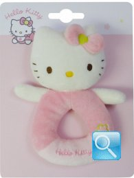 Peluche Sonaglio Hello Kitty Baby