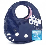 borsa hello kitty icon bag blu l