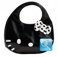 borsa hello kitty icon bag nera