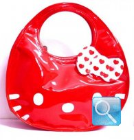 borsa hello kitty icon bag rossa