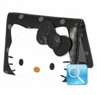 identity card case city hello kitty black
