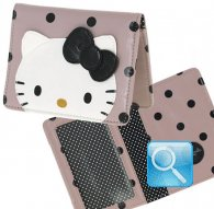 identity card case city hello kitty pink