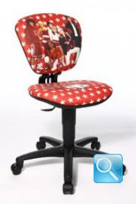 sedia per scrivania higt scool musical