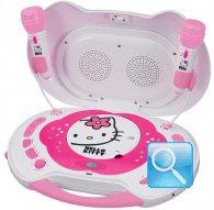 karaoke hello kitty cd stereo caraoche hello kitty con due microfoni
