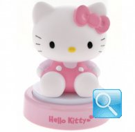 lampada hello kitty notturna touch pink