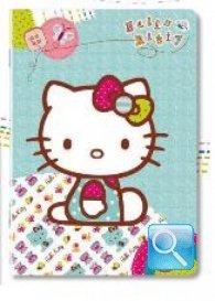 maxi quaderno hello kitty 5 mm azzurro nuova collezione 2013
