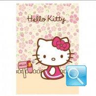 maxi quaderno hello kitty RIGHE rosa chiaro
