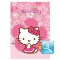 maxi quaderno hello kitty 5mm fucsia