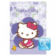 maxi quaderno hello kitty RIGHE viola