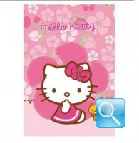 maxi quaderno hello kitty 10mm fucsia