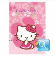 maxi quaderno hello kitty 10mm fucsia
