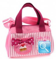 borsa hello kitty mini bauletto pink