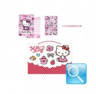 Mini Set Cartoleria hello kitty Dots