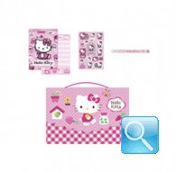 Mini Set Cartoleria hello kitty Garden