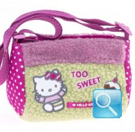borsa hello kitty mini tracollina too sweet green