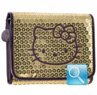 mini wallet urban chic gold