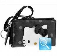 mobile case city hello kitty black